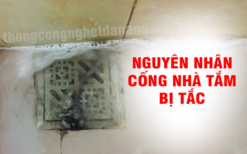 Nguyên nhân cống nhà vệ sinh bị tắc